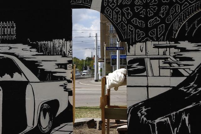 Durchblick auf der Straße (Foto: Kathrin Happe)