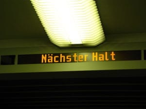 Nächster Halt (Foto: Kathrin Happe)