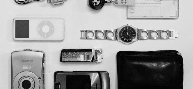 Weglassen: Geldbeutel, Handy, iPod, .... (Foto: Martin Strattner CC-BY-ND 2.0)