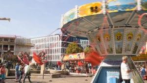 Jahrmarkt Halle (Foto: K. Happe)