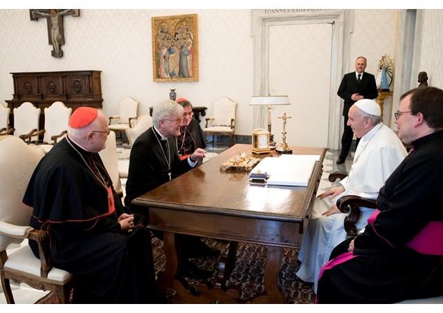 Ökumenische Begegnung im Vatikan (Foto: Radio Vatikan)