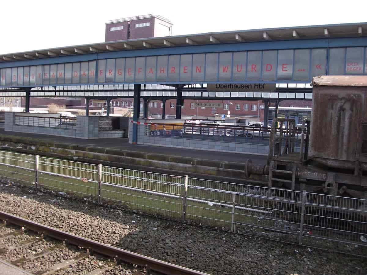 Oberhausen – Straßenexerzitien