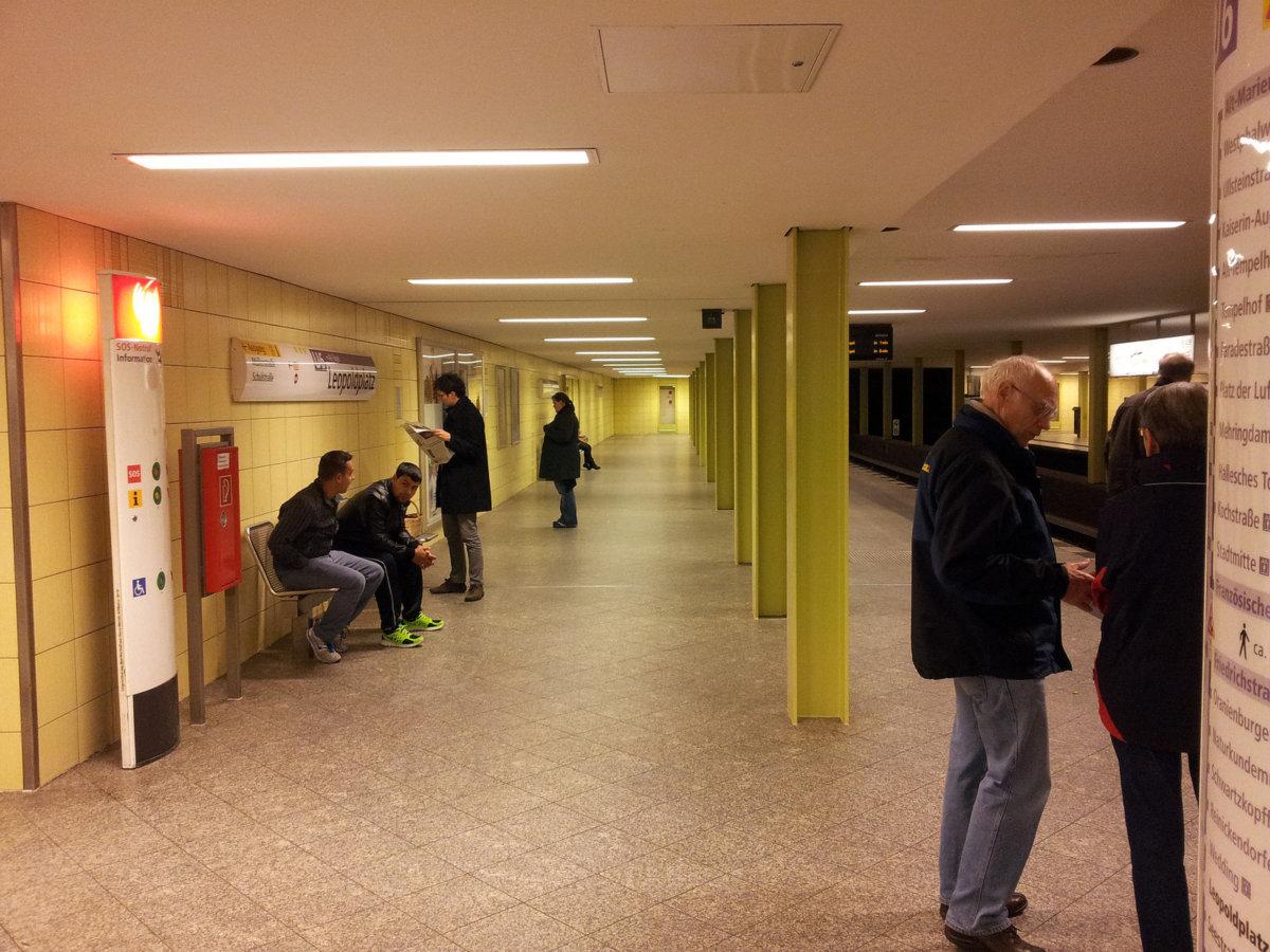 U-Bahnhof Leopoldplatz