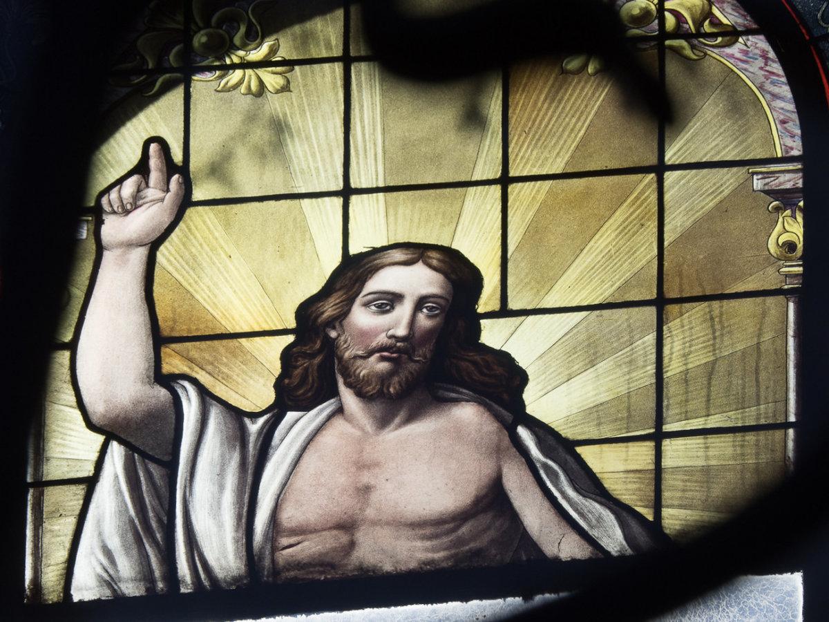 Auferstandener Christus (Bs. Aires) Foto: J. Haas